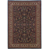 Oriental Weavers Ariana 113B2 Blue and Red