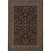Oriental Weavers Ariana 213K8 Black and Ivory