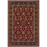 Oriental Weavers Ariana 271C3 Red and Black