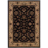 Oriental Weavers Ariana 311K3 Black and Ivory