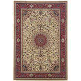 Oriental Weavers Ariana 095J3 Ivory and Red