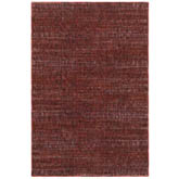 Oriental Weavers Atlas 8033K Red and Rust