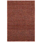 Oriental Weavers Atlas 8048K Red and Rust