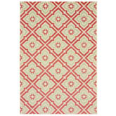 Oriental Weavers Barbados 1801C Pink and Ivory