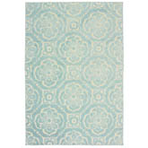 Oriental Weavers Barbados 539L4 Blue and Ivory