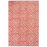 Oriental Weavers Barbados 539O4 Pink and Ivory