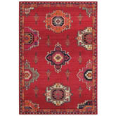 Oriental Weavers Bohemian 1801R Pink and Orange