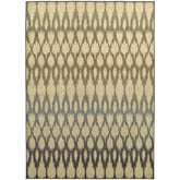 Oriental Weavers Brentwood 001H9 Ivory and Multi