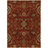 Oriental Weavers Casablanca 4471B Red and Multi