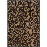 Oriental Weavers Emerson 2033C Black and Gold