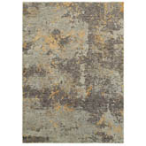Oriental Weavers Evolution 8025B Grey and Gold