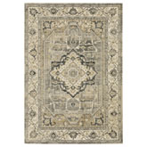 Oriental Weavers Florence 1805X Beige and Grey