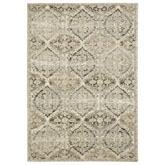 Oriental Weavers Florence 270H6 Ivory and Grey