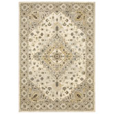 Oriental Weavers Florence 4332X Beige and Grey