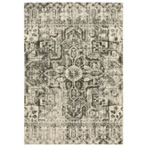 Oriental Weavers Florence 4333W Charcoal and Ivory