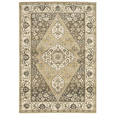 Oriental Weavers Florence 661I6 Beige and Grey