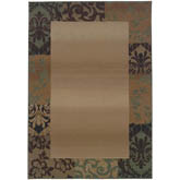 Oriental Weavers Genesis 2060Y Beige and Green