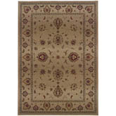 Oriental Weavers Genesis 034J1 Beige and Red
