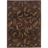 Oriental Weavers Genesis 003X1 Brown and Beige