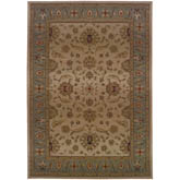 Oriental Weavers Genesis 952W1 Beige and Blue