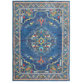 Oriental Weavers Joli 564B4 Blue and Multi