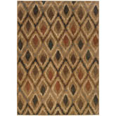 Oriental Weavers Kasbah 3942A Gold and Beige