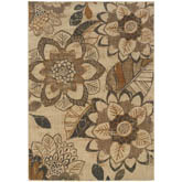 Oriental Weavers Kasbah 3953C Ivory and Grey