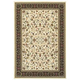 Oriental Weavers Kashan 108X1 Ivory and Black