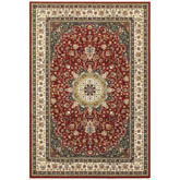 Oriental Weavers Kashan 119N1 Red and Ivory