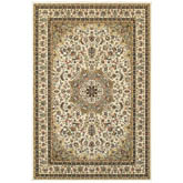 Oriental Weavers Kashan 119W1 Ivory and Beige