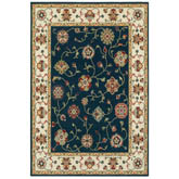 Oriental Weavers Kashan 2336B Navy and Ivory