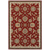 Oriental Weavers Kashan 370RI Red and Multi