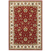 Oriental Weavers Kashan 4929R Red and Ivory