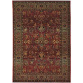 Oriental Weavers Kharma 836C4 Red and Green