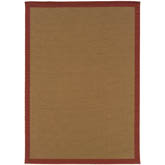 Oriental Weavers Lanai 525O8 Beige and Red