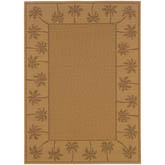 Oriental Weavers Lanai 606D7 Beige and Tan