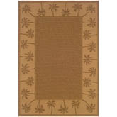 Oriental Weavers Lanai 606M7 Tan and Beige