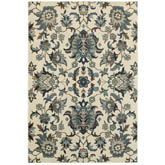 Oriental Weavers Linden 7811A Ivory and Blue