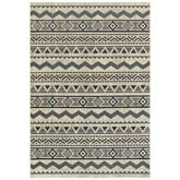Oriental Weavers Linden 7824A Grey and Blue