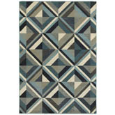 Oriental Weavers Linden 7902A Blue and Grey