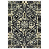 Oriental Weavers Luna 5603K Black and Ivory