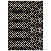 Oriental Weavers Luna 8123B Black and Ivory