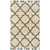 Oriental Weavers Madison 61405 Ivory and Tan