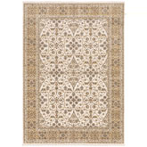 Oriental Weavers Maharaja 001J1 Ivory and Gold