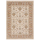 Oriental Weavers Maharaja 5091Q Rust and Ivory