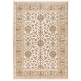 Oriental Weavers Maharaja 5091W Ivory and Gold