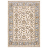 Oriental Weavers Maharaja 5091Z Ivory and Blue