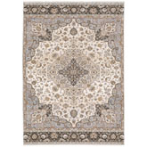 Oriental Weavers Maharaja 660J1 Ivory and Blue