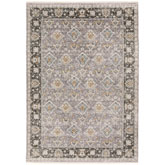 Oriental Weavers Maharaja 091E1 Grey and Blue