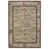 Oriental Weavers Mantra 1905W Ivory and Multi